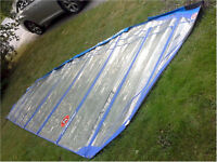 Windsurfing Sail 9.5 Meters Hot Sails Maui Stealth Speed