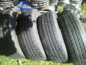 Set of 4 Continental Contitrac tires for sale.