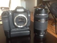 Canon 50D + lens and battery grip!!GREAT PACKAGE