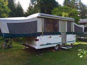 Coleman Pop-Up Tent Trailer