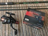 Ron Thompson match rod and NGT reel