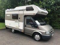 2002 FORD TRANSIT 280 SWB P/V 2.0 TD BESPOKE HYMER conversion Motor Caravan Diesel