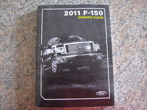 2011 FORD F-150 OWNER'S MANUAL SET - COMPLETE, AS NEW