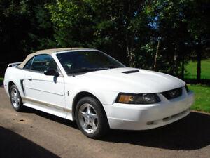 2002 Mustang Convertible Call 394-2037