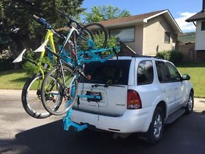 Vertical Vehicle Hitch Mount Bike Rack