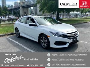 2016 Honda Civic EX + MAY DAY SALE + CERTIFIED