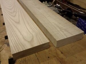 1 1/2'' x 8'' rough ASH LUMBER