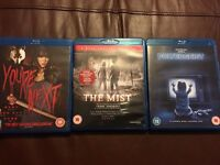 Three Horror Blu Rays! You're Next, The Mist and Poltergeist