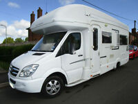 Auto Sleeper Berkshire Mercedes Automatic 4 Berth Motorhome for sale Autosleeper