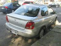 2000 Toyota Echo Coupé ,manuelle,propre,bon mecanique