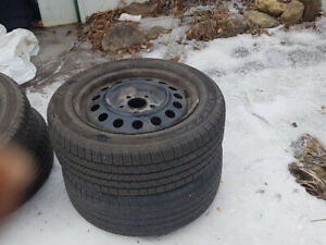 2 pairs of 205/55 R16 tires