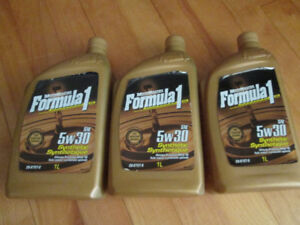 3 bottles of synthetic oil