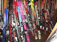 ski alpin jr et adulte 90cm 100cm 110cm 120cm 130cm 140cm 150cm
