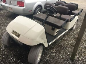 2008 EZ GO 6 SEATER LIMO ELECTRIC GOLF CART 0NLY$2750