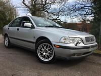 1999 Volvo S40 1.9 T4 SE 4dr, Turbo, RARE CAR, Only 65k miles, FSH