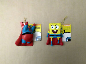 x2 Spongebob Christmas Ornaments