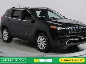 2015 Jeep Cherokee LIMITED AWD AUTO A/C BLUETOOTH MAGS