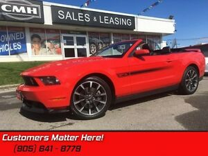 2012 Ford Mustang GT  CONVERTIBLE, LEATHER, 6 SPD, CALIFORNIA SP