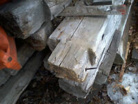 old barn beam(approx 12)need to go  wait for offer
