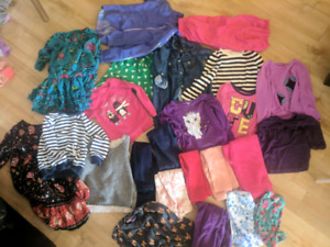 Girls 3t clothes including splash suit 23 items