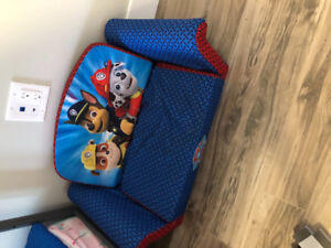 Paw patrol flip out couch