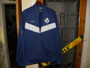 Reebok Maple Leafs Centre Ice  Polyester Jacket