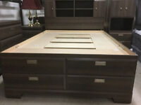 Brand New Double size storage bed