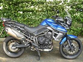 Triumph Tiger 800 XRX, 2015/15 with 5,955 miles