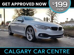 2014 BMW 428XI $199B/W TEXT US FOR EASY FINANCING! 587-582-2859