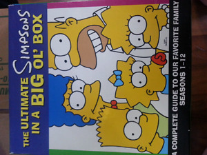 Simpsons Boxed Book Set