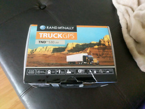 GPS  Rand McNelly 5 inch Truck GPS