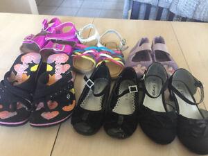 Lot de soulier pour fille