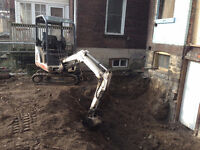 EXCAVATIONS, DEMOLITION, FOOTINGS, FOUNDATIONS, MATERIAL DISPOSA