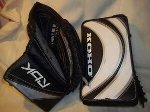 Junior Goalie RH Blocker (KOHO) & LH Trapper (RBK) Set