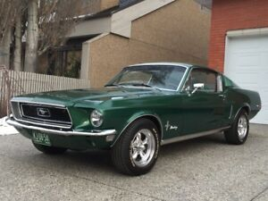 1968 Ford Mustang Fastback V8, automatic, NO RUST!