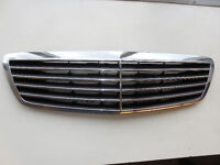 MERCEDES S430 S500 1998-2006 FRONT RADIATOR GRILLE CHROME