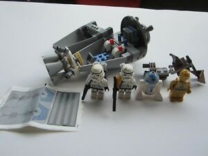 Lego Star Wars #9490 - Droid Escape 100% Complete EUC