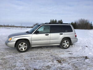 2001 Subaru Forester S Limited SUV
