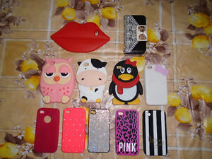 11 étui pour Iphone 4/4s dont 2 Victoria Secret
