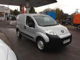 61 plate Peugeot Bipper 1.4HDi 8v 70 S 1 owner only 11k from new fsh
