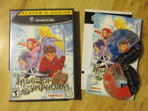 Nintendo Gamecube TALES OF SYMPHONIA Video Game RPG Vintage