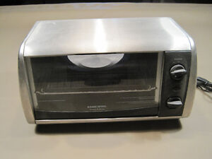 Black and Decker Toaster Oven and Broiler