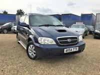 Kia Sedona LE 2.9CRDi 7Seats Sat Nav Front/Rear DVD Blutooth Delivery Px welcome