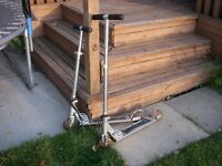 """Two """"Razor"""" Scooters"""