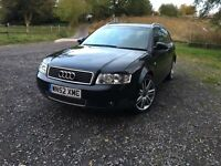 2002 Audi A4 1.9 TDi SE 130Bhp Avant .18 inch s line alloys .parking sensors .cd multi changer.