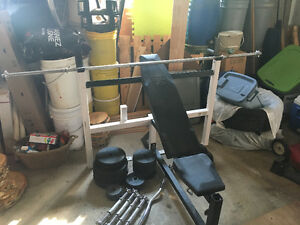 Bench Press Multi-Fonction, + Dumbbell, + 340lbs