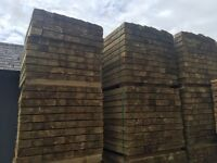 🌲Feather Edge Tanalised Wooden Fencing Panels/ Boards/ Pieces * Various Sizes