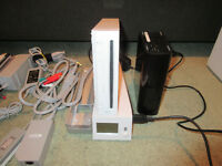 Wii with Wode jukebox/500GB hard disk and lots of accesories