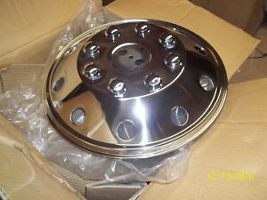 """19.5"""" STAINLESS STEEL WHEEL COVERS -SET OF 4"""