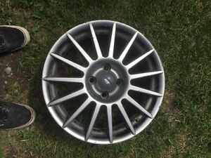 """17"""" rims with tpms"""